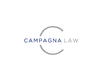 Campagna Law logo design