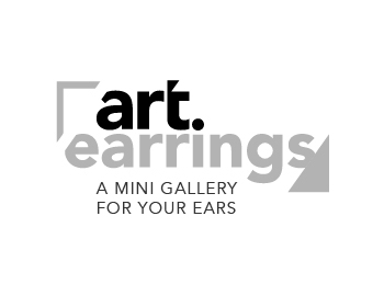 art earrings logo design