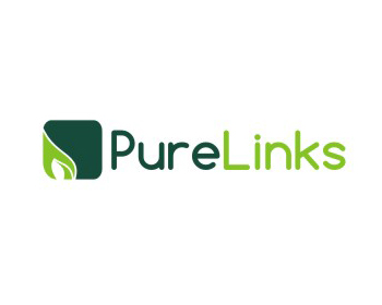 Pure Links logo design