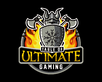 Table of Ultimate Gaming logo design