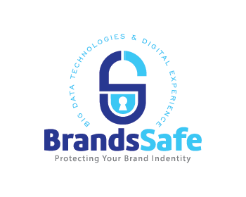 Brands Safe logo design