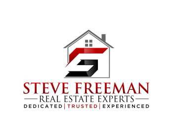logo design for steve freeman real estate experts