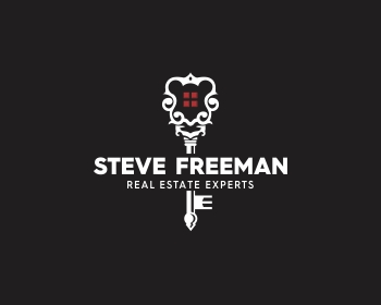 Steve Freeman Real Estate Experts logo design