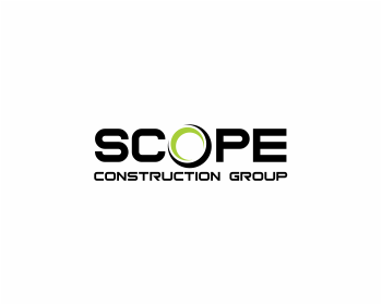 Scope Construction Group logo design