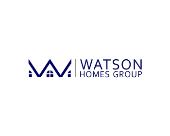 Watson Homes Group logo design