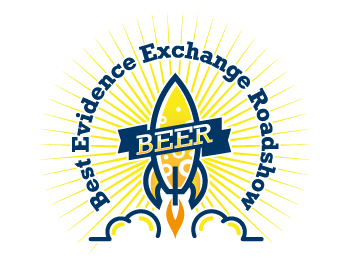 Best Evidence Exchange Roadshow logo design