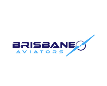 Brisbane Aviators logo design