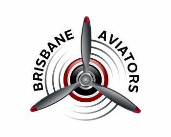 Logo design for Brisbane Aviators