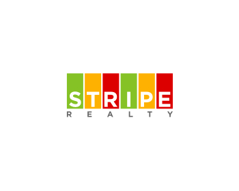 Stripe Realty logo design