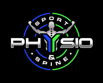 Physio Sport & Spine logo design