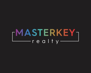 MasterKey Realty logo design