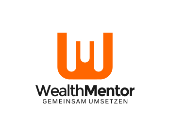 Wealth Mentor logo design