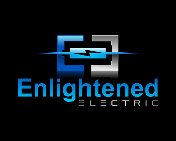 Enlightened Electric logo design