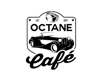 Octane Cafe logo design