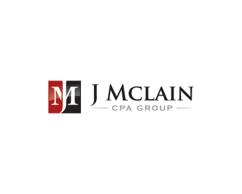 J MCLAIN CPA GROUP logo design