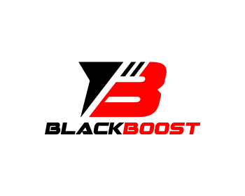 Black Boost logo design