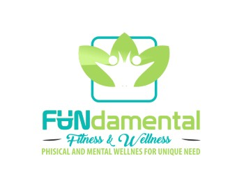 FUNdamental FITNESS AND WELLNESS logo design