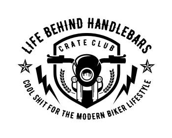Logo design for Life Behind Handlebars Crate Club