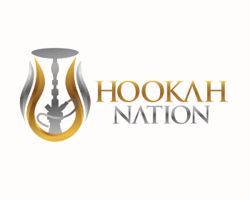 HOOKAH NATION logo design