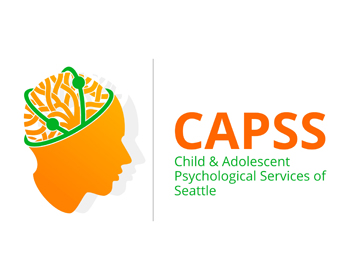 Child and Adolescent Psychological Services of Seattle (CAPSS) logo design