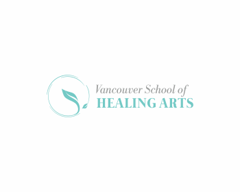 Logo design for Vancouver School of Healing Arts