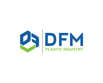 Logo design for DFM Plastic Industry