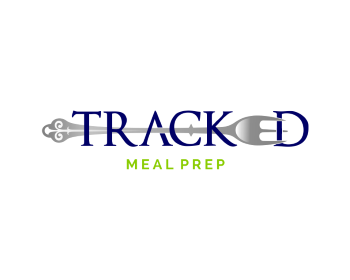 Logo design for Tracked Meal Prep