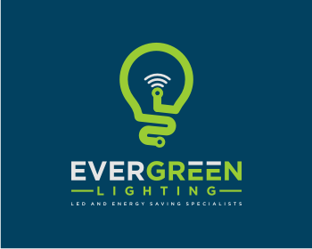 Evergreen Lighting logo design