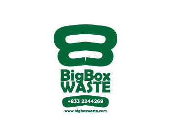 Big Box Waste logo design