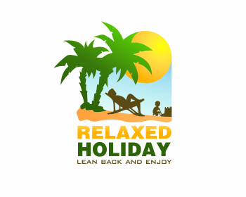 relaxed holiday logo design