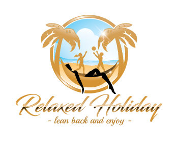 Logo design for relaxed holiday