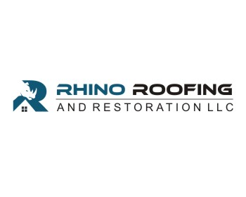 Logo Rhino Roofing and Restoration LLC.