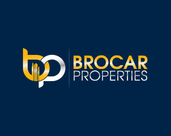 Brocar Properties logo design