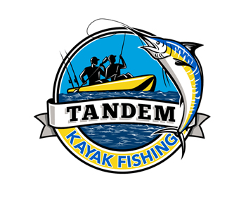 Logo design for Tandem Kayak Fishing