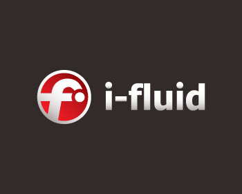 i-Fluid logo design