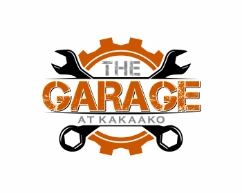 The Garage logo design