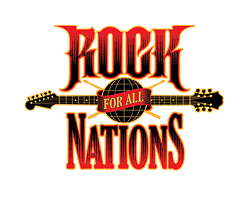 Logo design for Rock for all Nations