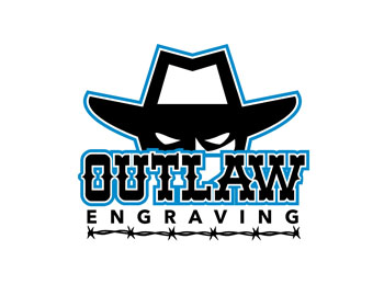 Logo design for Outlaw Engraving