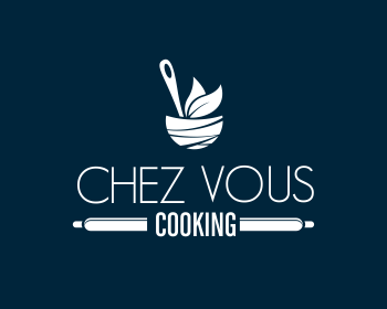 Logo design for Chez Vous Cooking