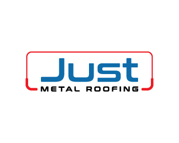 Just Metal Roofing logo design