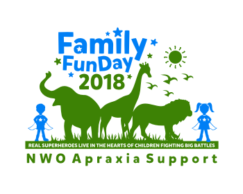 NWO Apraxia Support logo design