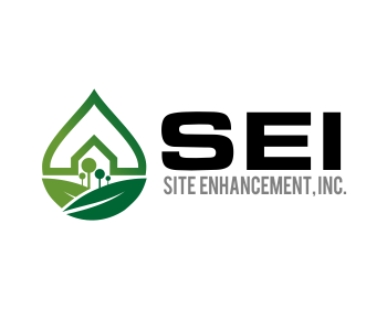 Site Enhancement, Inc. logo design