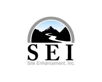 Logo design for Site Enhancement, Inc.