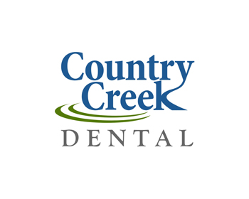 Logo design for Country Creek Dental