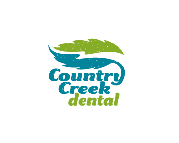 Country Creek Dental logo design