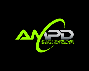 Athletic Movement and Performance Dynamics logo design