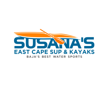 Susana's East Cape SUP & Kayaks logo design
