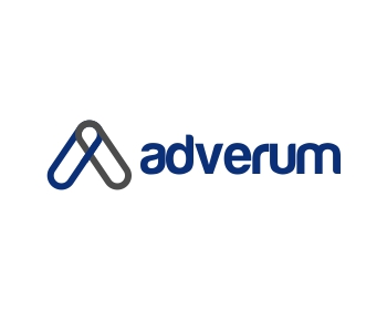 adverum logo design