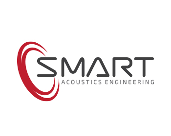 smart acoustics engineering logo design