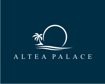 Altea Palace logo design